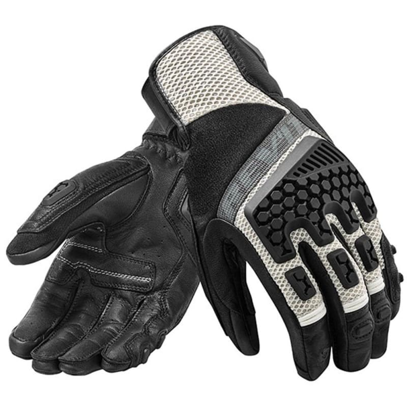 New 2019 Revit Sand 3 gloves motorcycle adventure touring ventilated gloves Genuine Leather Motorbike Gloves