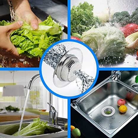 (NEW YEAR PROMOTION - SAVE 50% OFF)Stainless Steel Sink Filter🎁Cap For FREE!
