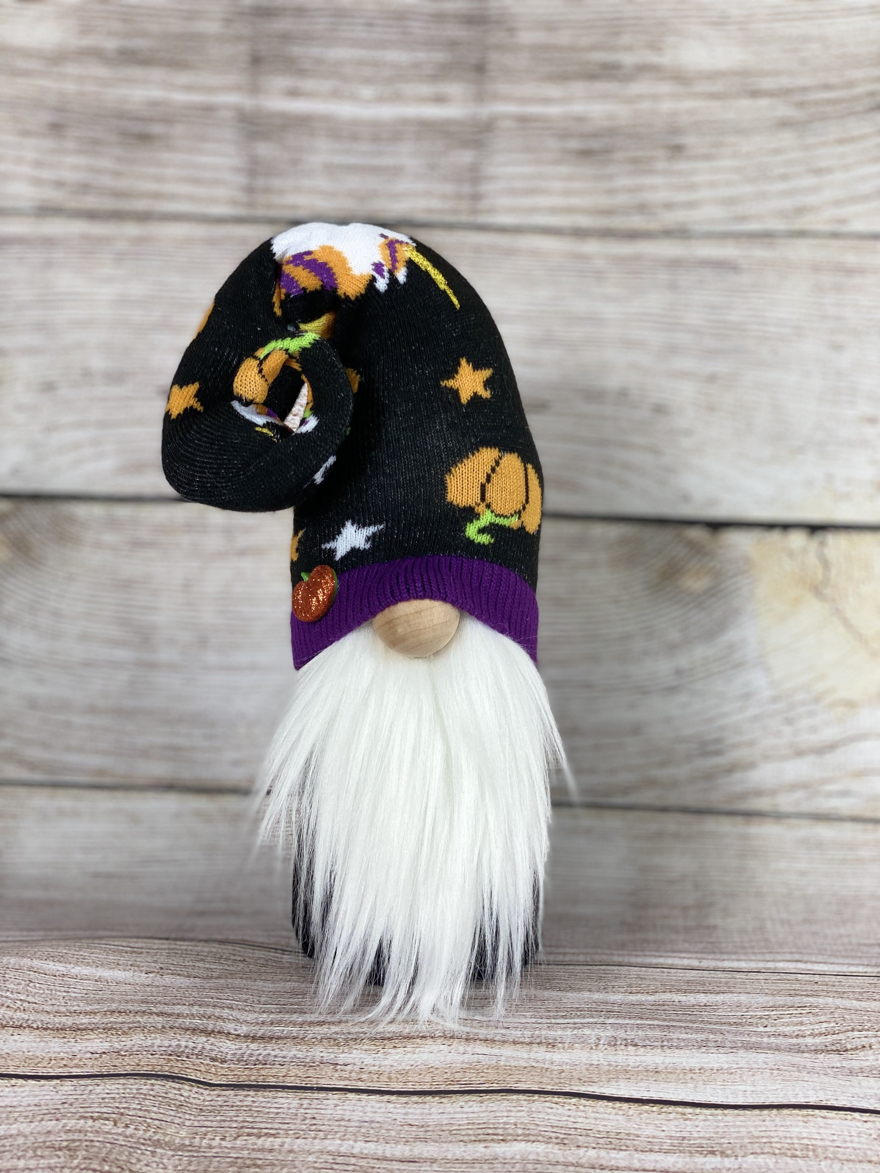 Halloween gnome with unicorns on hat