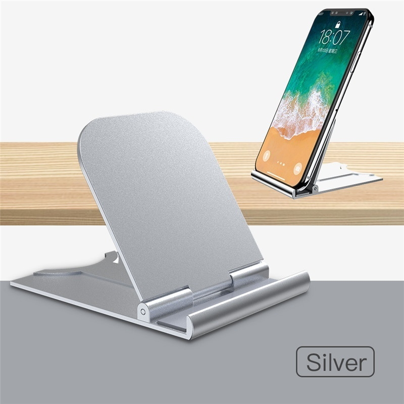 Mobile Phone Holder Universal Desktop Stand for IPad Tablet 180 Degree Adjustable Stand