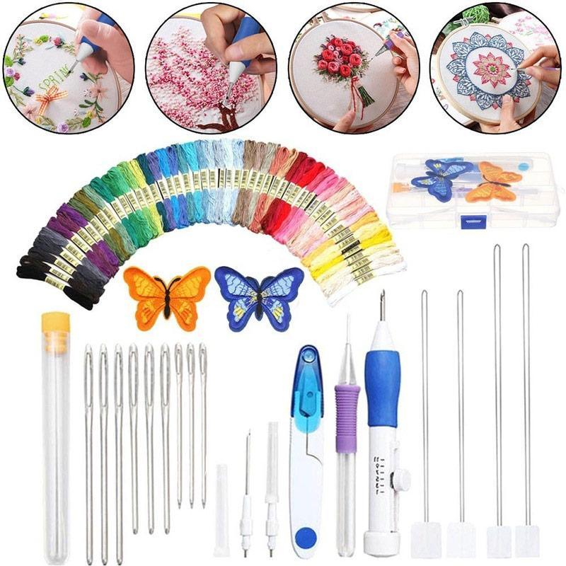 50% OFF-Rainbow Color Embroidery Threading Tool -Home handmade necessities!
