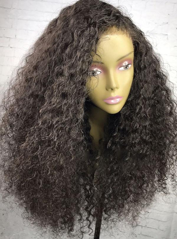 Ross deep curly lace wig