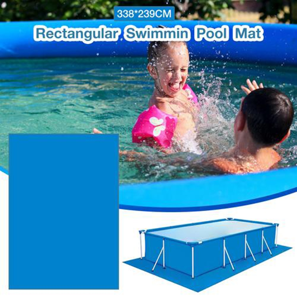6 Size Rectangle Swimming Pool Mat for Foldable Pool Floor Cloth Swimming Pool Protective Mat Only Mat !!! 1PC