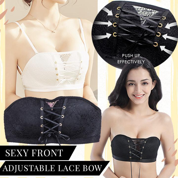 Lace Strapless Push Up Bra