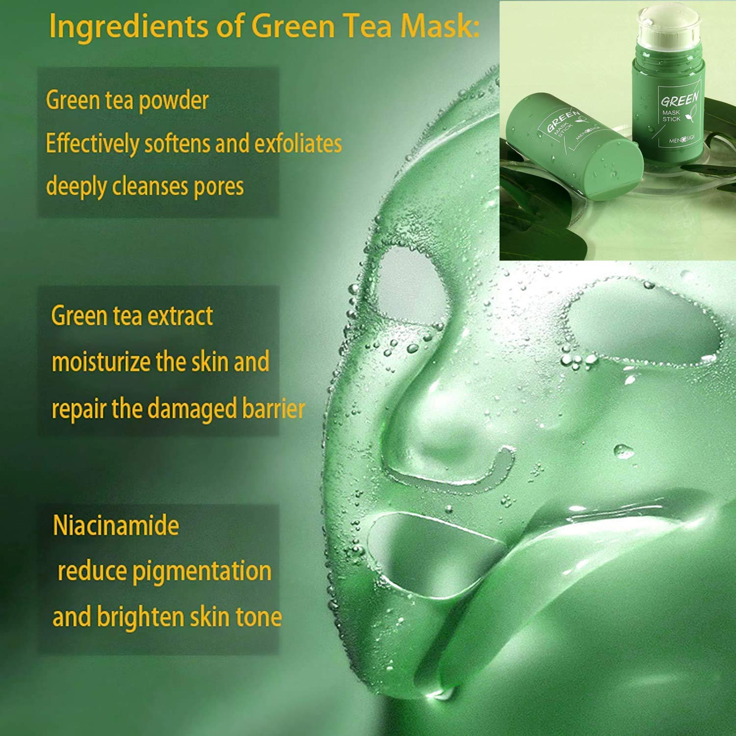 GREEN MASK STICK(LIMITED TIME 50%OFF!)