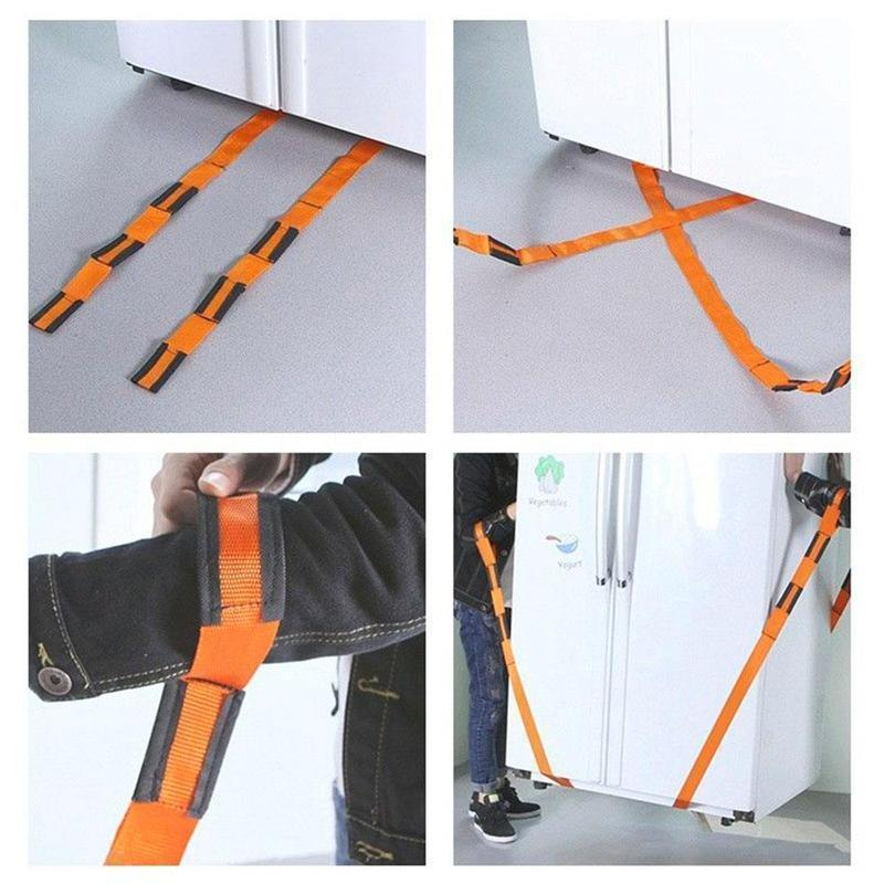 Adjustable Furniture Teamstrap Moving and Lifting Straps