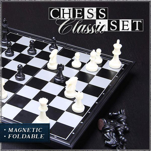 Classic Magnetic Chess Set