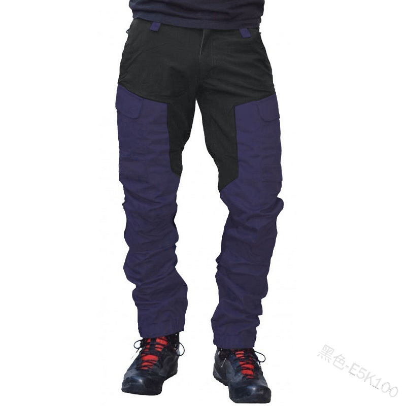 Motorcycle riding pants men's fall prevention