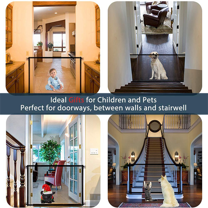 (Last Day Promotion 50% Off!) Portable Kids &Pets Safety Door Guard