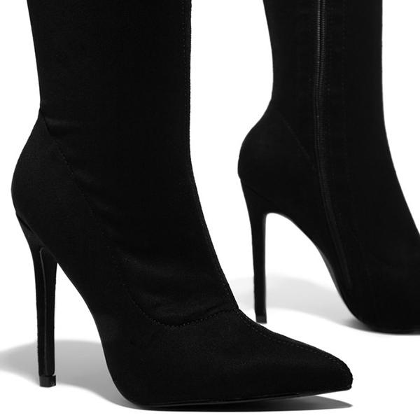 Mokoshoes Stiletto Over The Knee Boots