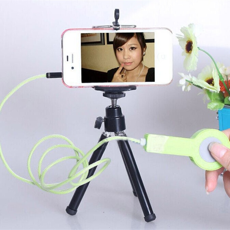 Extendable Portable Phone Camera 360° Rotation Light Weight Handheld Tripod Stand