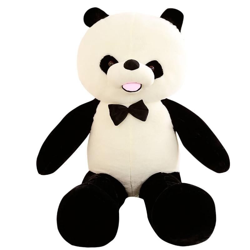 Giant Stuffed Animal Panda Bear Plush with Bow