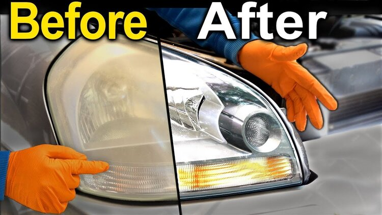 Restore Headlights PERMANENTLY-Buy 2 Free Shipping