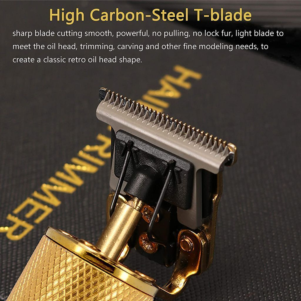 Only $19.99 Today - 2021 New Rechargeable T-Blade Men's Hair Clipper