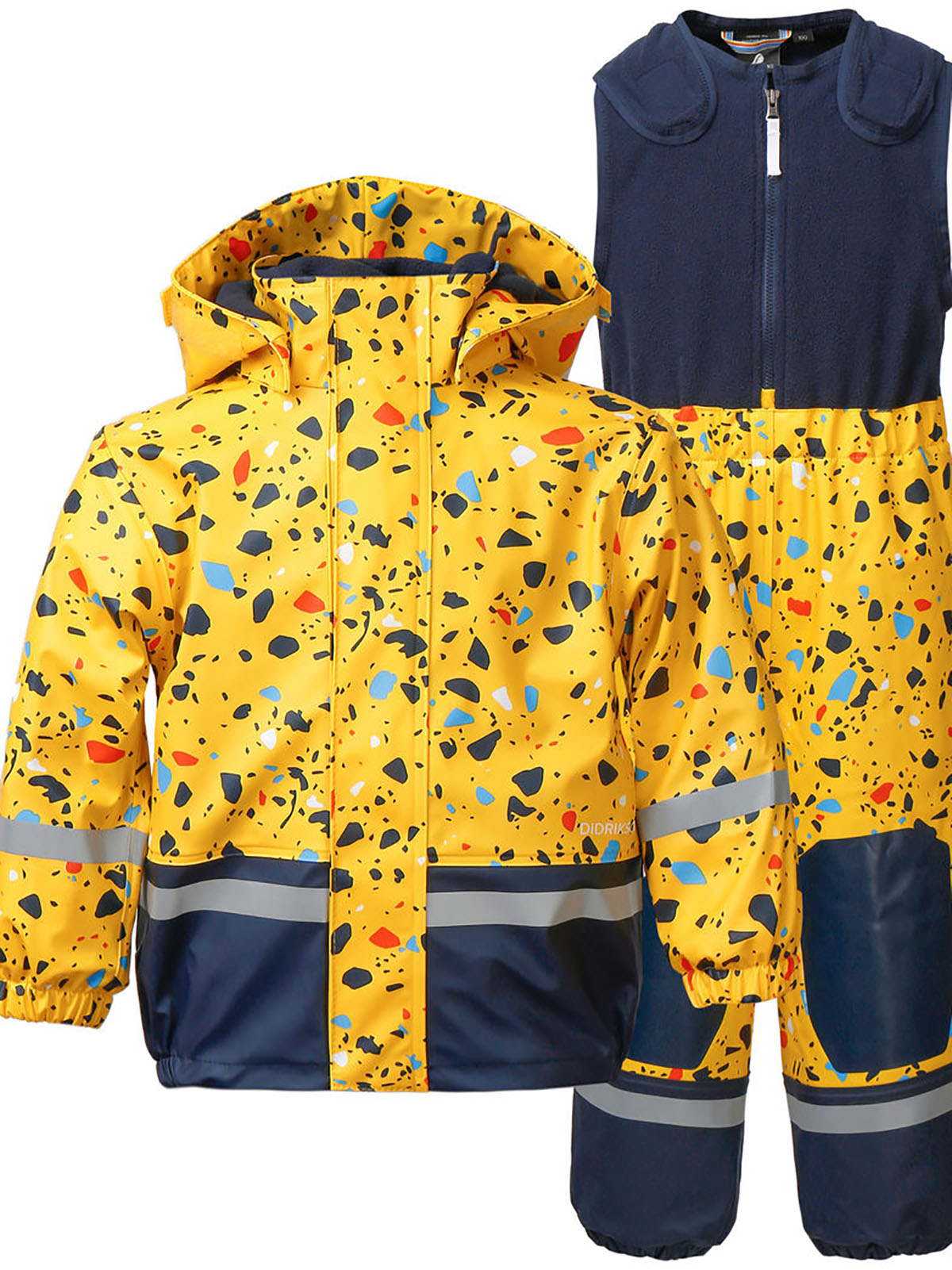 Waterproof and cold-proof down jacket children's suit
