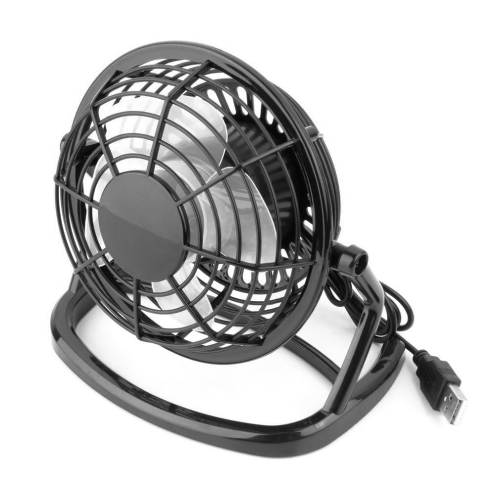 USB Mini USB Fans Cooler USB Powered Portable Table Fan Super Mute for Office Cooling Fan Car Home Laptop