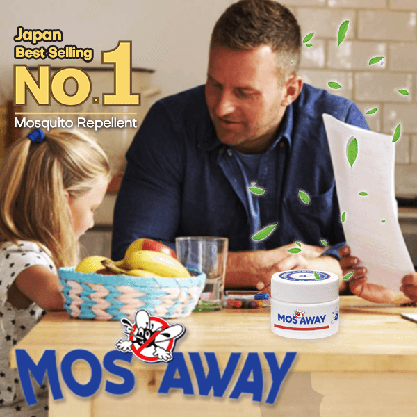 MOS AWAY -  Flying Insect Repellent