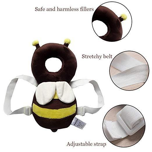 Baby Head Protector Protection With Back Fall Protection
