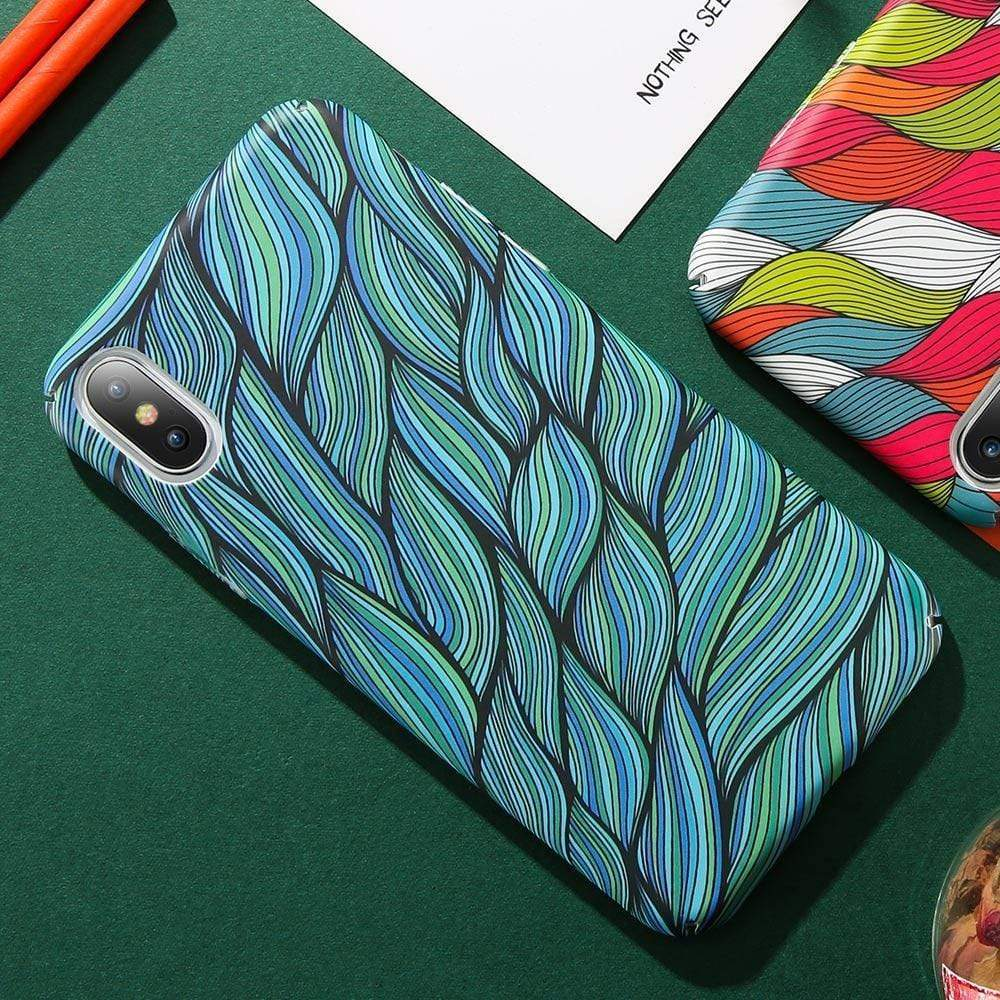 Colorful Woven Pattern Case