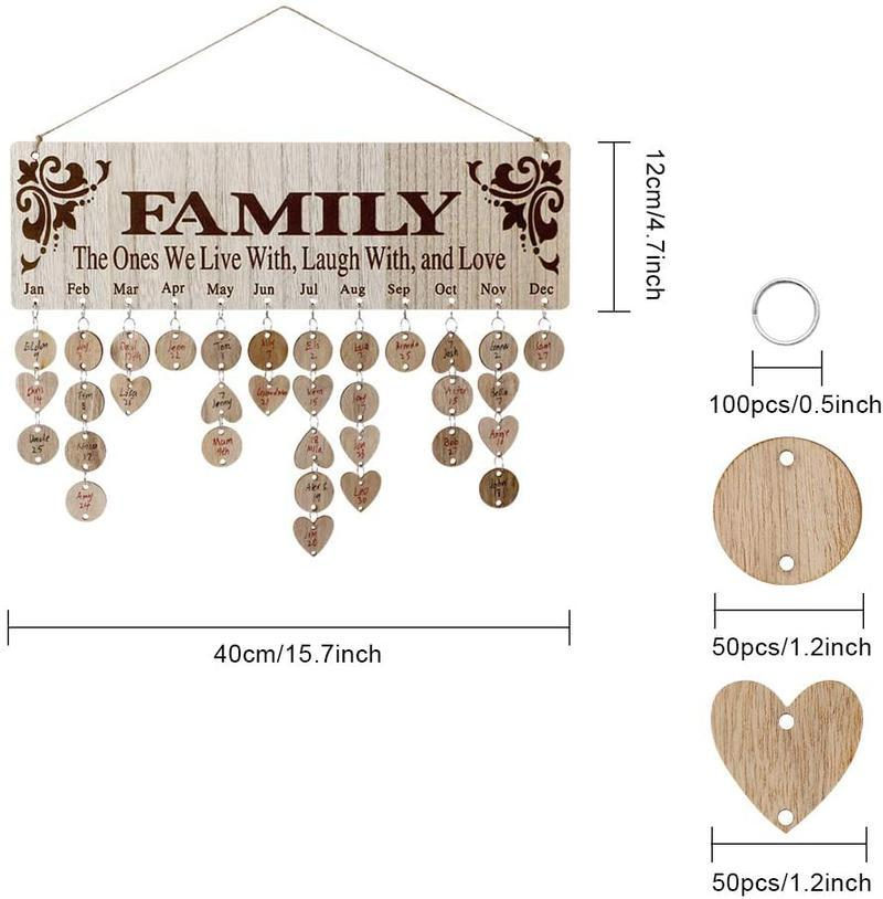 Family Date Plaque