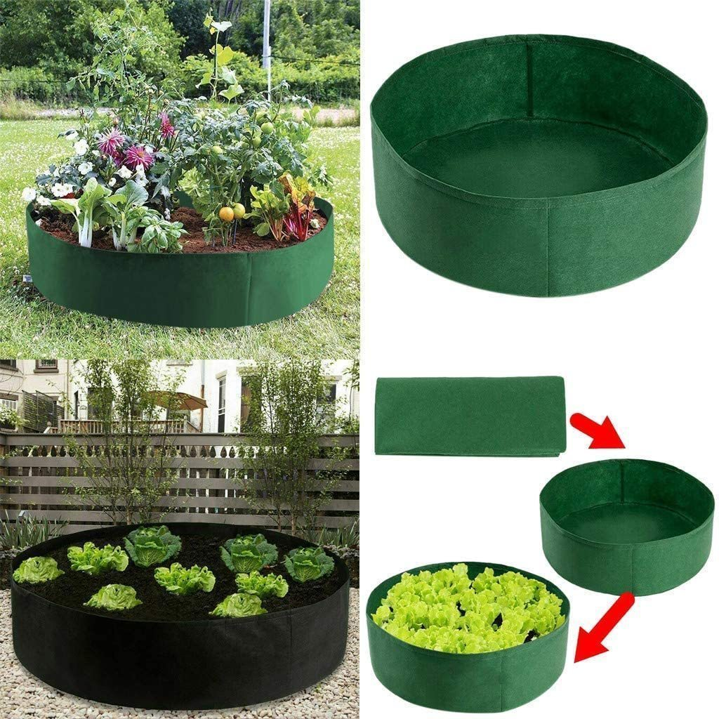 Fabric Raised Planting Bed - Just Unfold, Fill and Grow