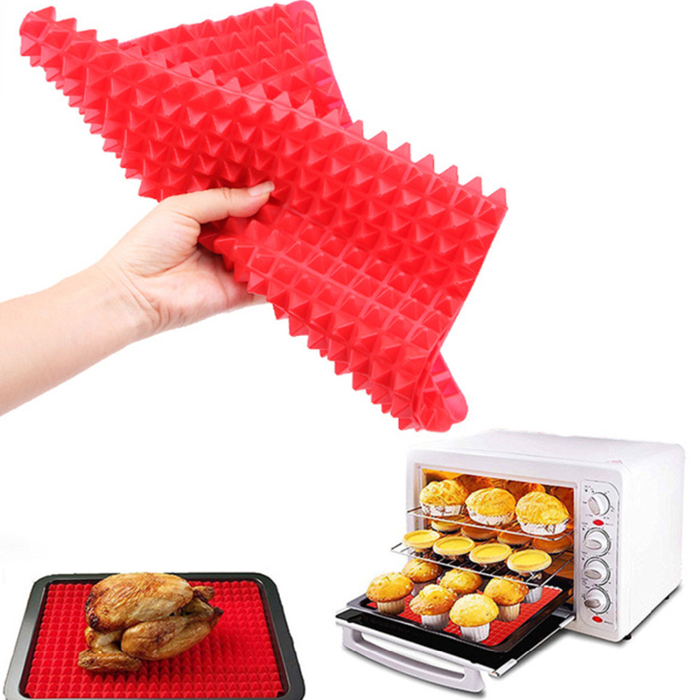 Non-Stick Pyramid Style Silicone Mat for Baking