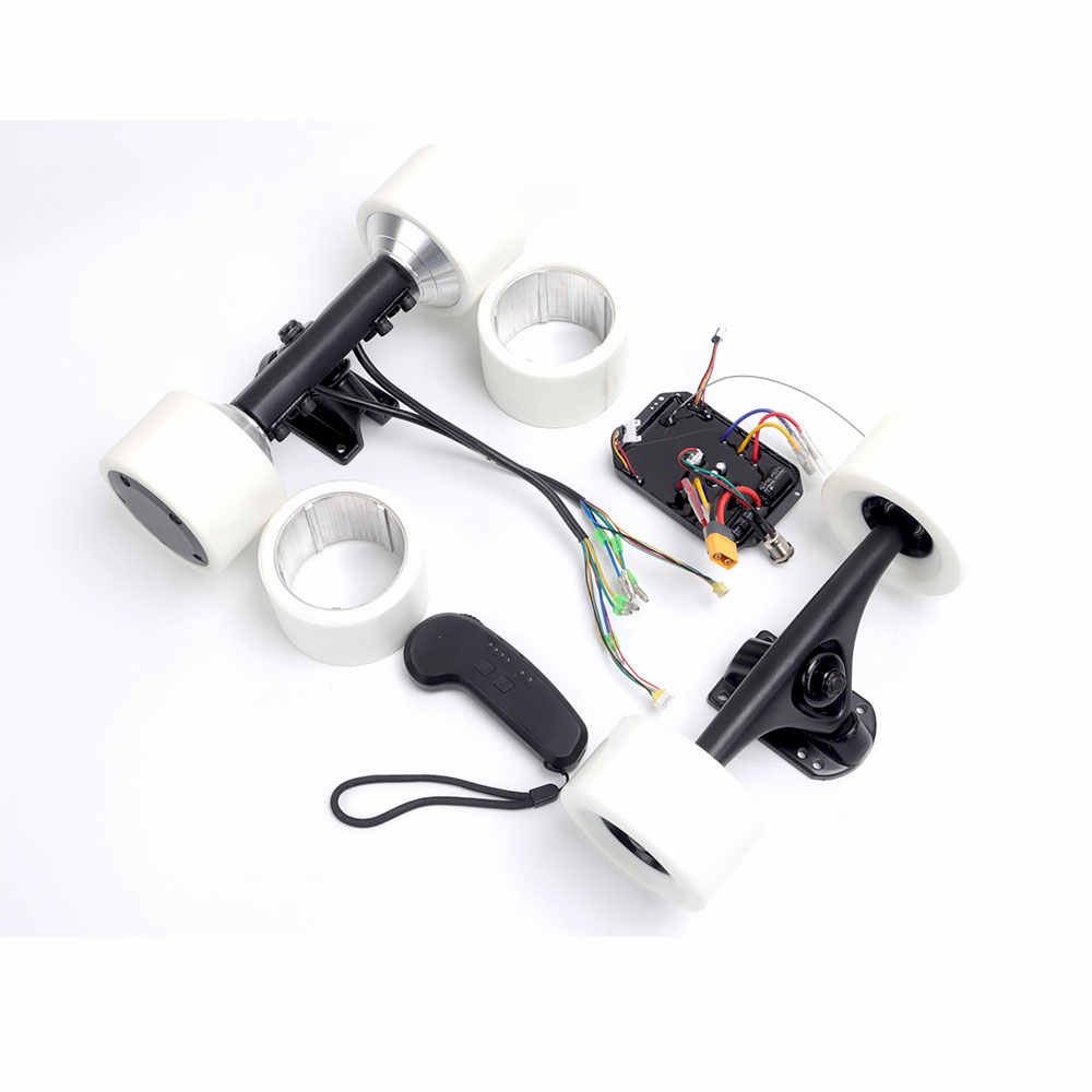 90*54mm Dual Brushless hub motor kit with Hobwing ESC for electric skateboard