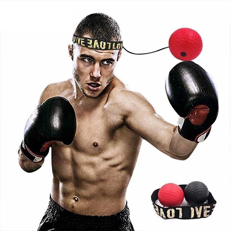 (🔥2020 Hot Sale!! - SAVE 50% OFF) Boxing Reflex Ball Headband - Buy 3 Get Extra 20% OFF