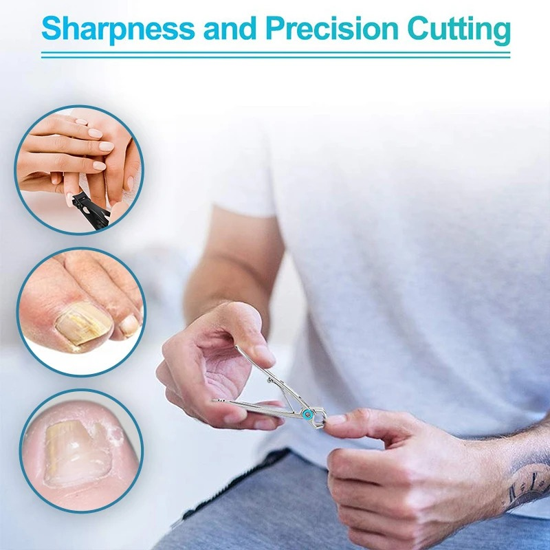 (New Year Promotion- SAVE 50% OFF) Nail Clippers For Thick Nails