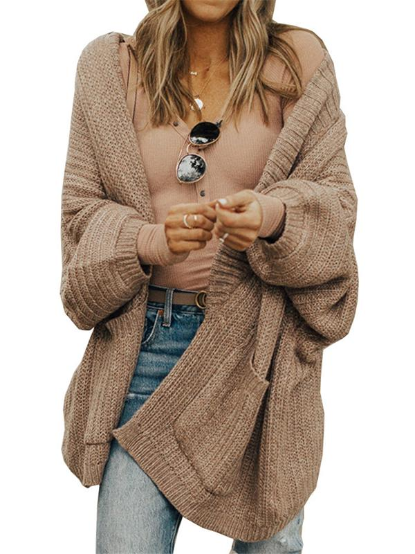 Bonnieshoes Cute Casual Puff Sleeves Sweater Cardigan