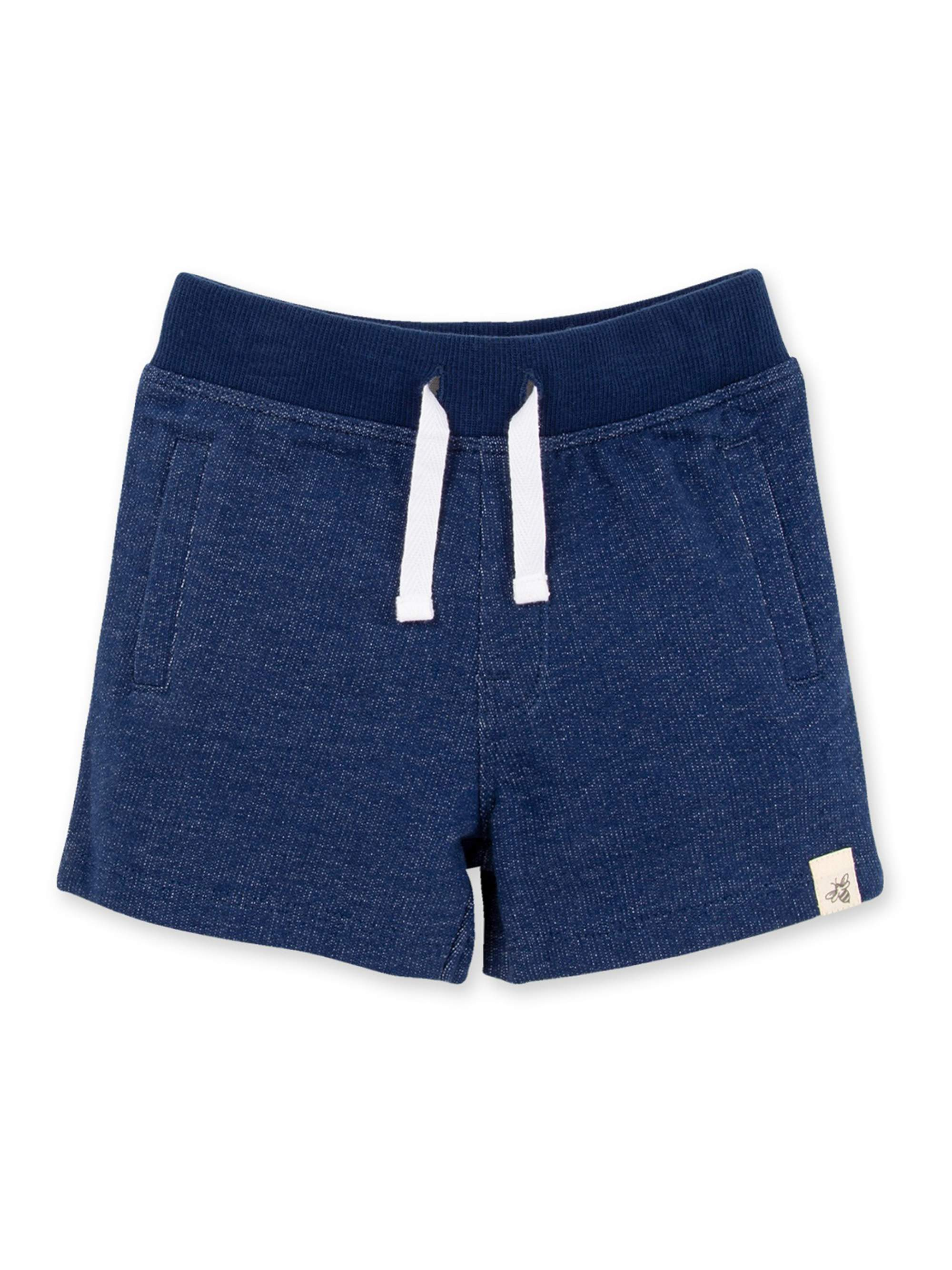 Baby Boy Burt's Bees Baby Organic Two-Tone French Terry Shorts