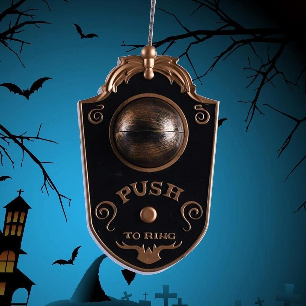 SPOOKY ANIMATED EYEBALL DOORBELL - BIG SIZE