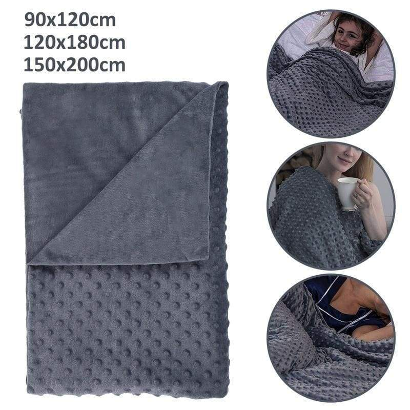 Newest Weighted Blanket Can Decompression Help Sleep and Relieve Anxiety