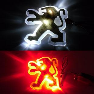 🚗5D Car Logo Badge LED Light✨For The Front And Back