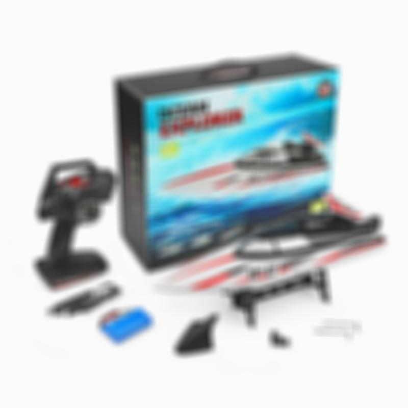 WL912-A RC Boat 2.4G 35KM/H High Speed RC Boat Capsize Protection