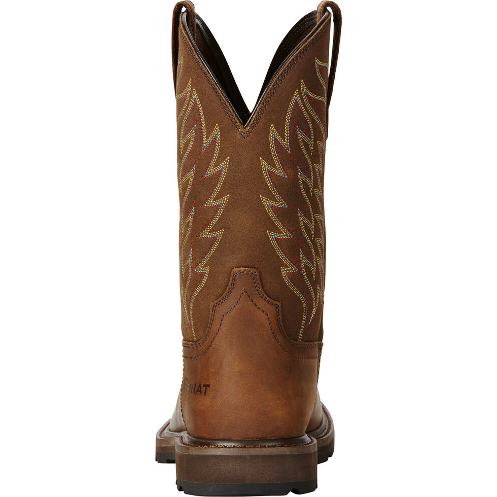 Men's Groundbreaker Square Toe Western Work Boots
