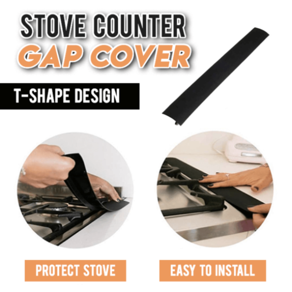 Silicone Stove Gap Cover (2 pcs)--Last Day Promotion 50% Off!