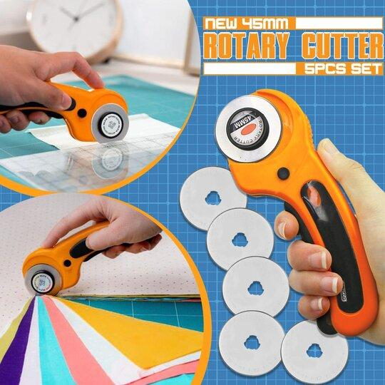 New 45mm Rotary Cutter Set 5 pcs