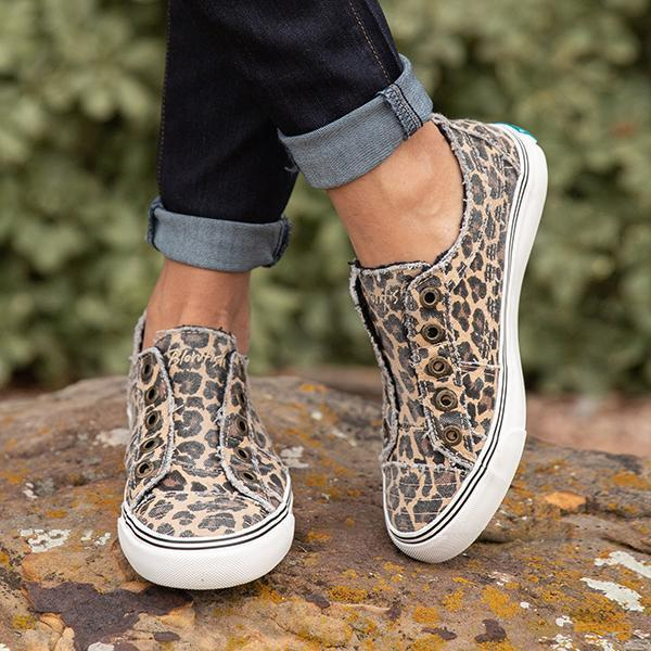 Bonnieshoes Slip-on Leopard Play Sneakers