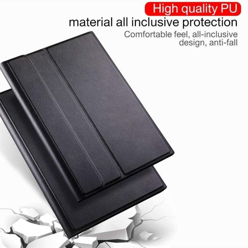 Wireless Bluetooth Keyboard Case Cover For Samsung Galaxy Tab S6 S5E A A2 A6 8.0 10.1 S4 Tablet Case PU Leather Cover