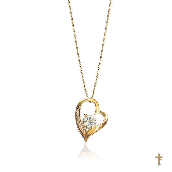 To my Furture Wife Forever Heart  Necklace