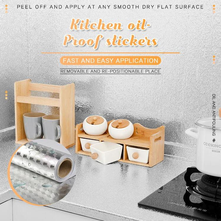 (2020 HOT SALE- Save 50% OFF)Kitchen Oil-proof Stickers