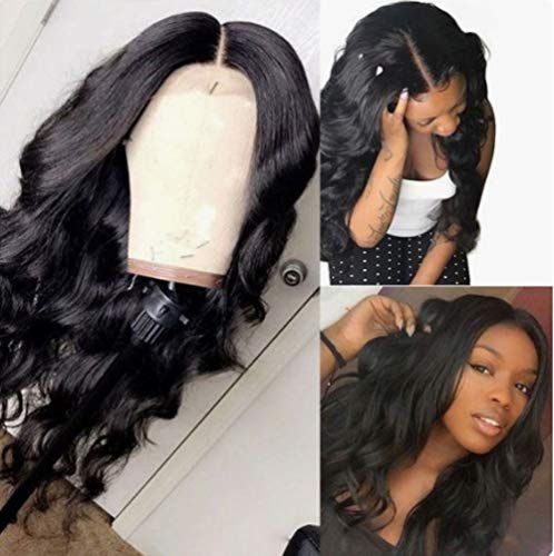 Lace Front Wigs Black Curly Hair Virgin Brazilian Straight Hair Bundles Mongolian Curly Wig Rick Wig