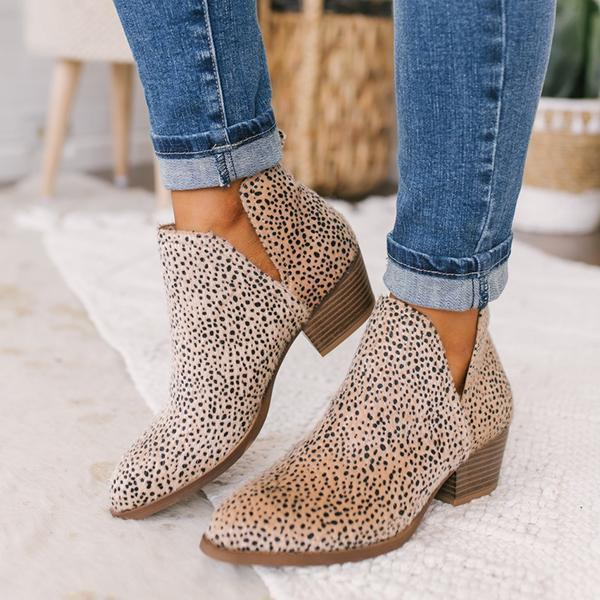 Bonnieshoes Cut-out Ankle Booties