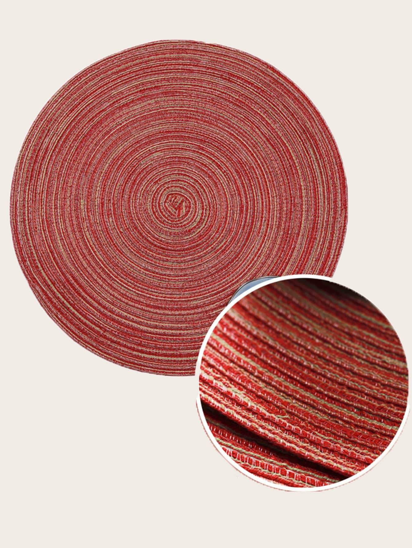 Weave Round Placemat 1pc