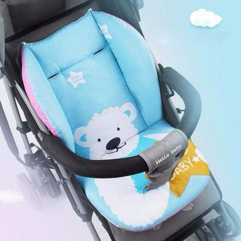 Universal Car Stroller Seat Covers Soft Thick Pram Cushion Car Seat Pad Covers WIS