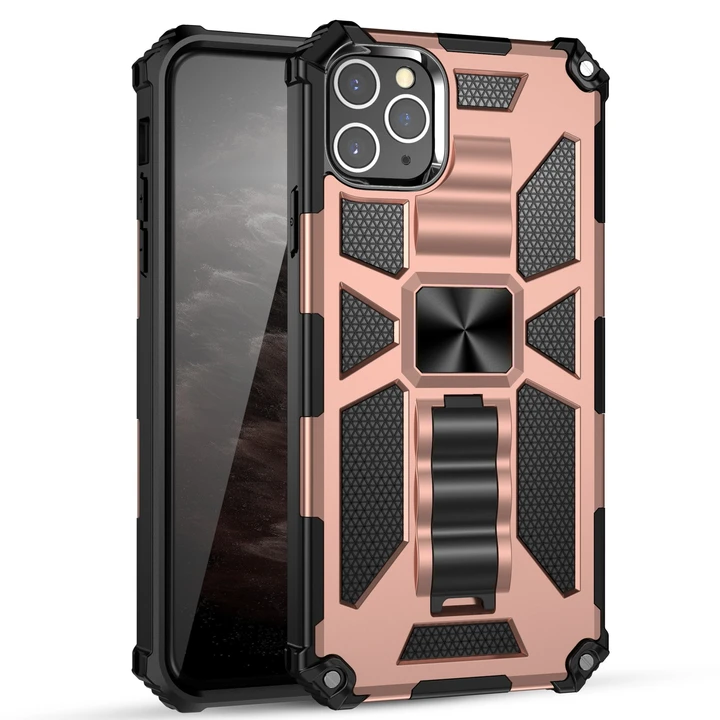 (Black Friday Pre Sale - 50% OFF)2020 Luxury Armor Shockproof With Ring Kickstand-buy 2 get 1 free & free shipping