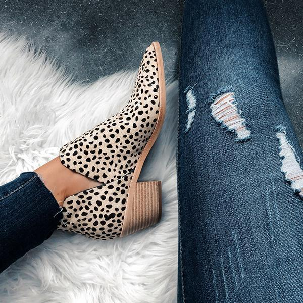 Zoeyootd Sonni Leopard Boots