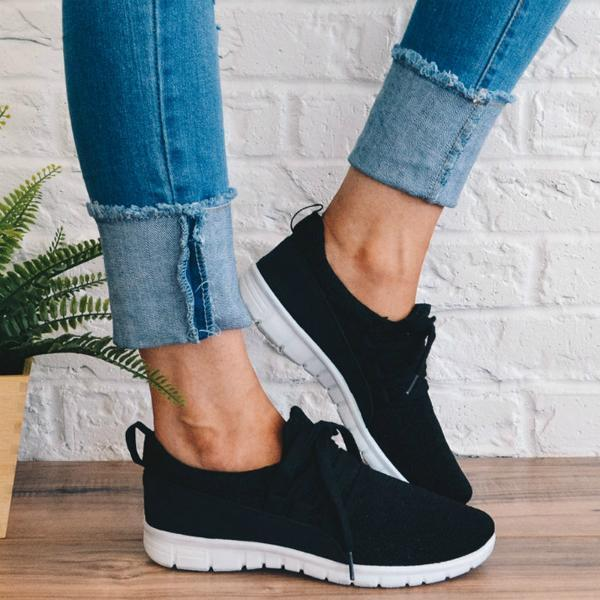 Bonnieshoes  Adjustable Lace-up Sneakers