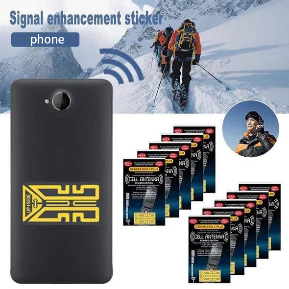 🔥Buy 3 get 1 free - Cell phone signal enhancement stickers - Signal Booster